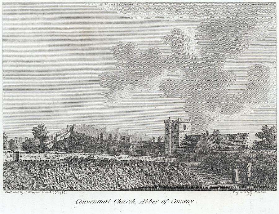 Conventional Church, Abbey of Conway