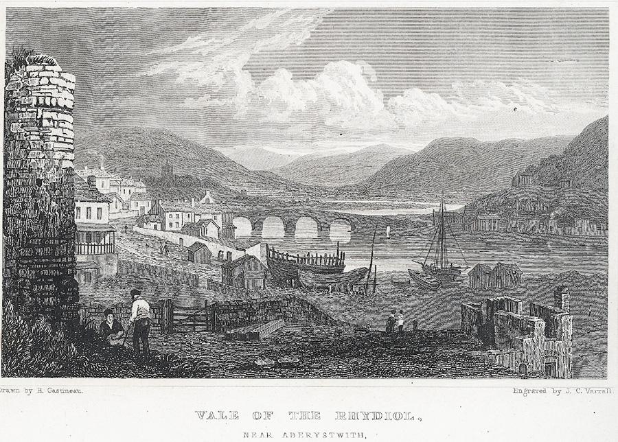 Vale of the Rhydiol, near Aberystwith, Cardiganshire