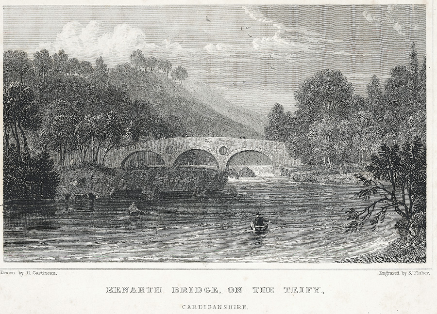 Kenarth Bridge, On The Teify, Cardiganshire