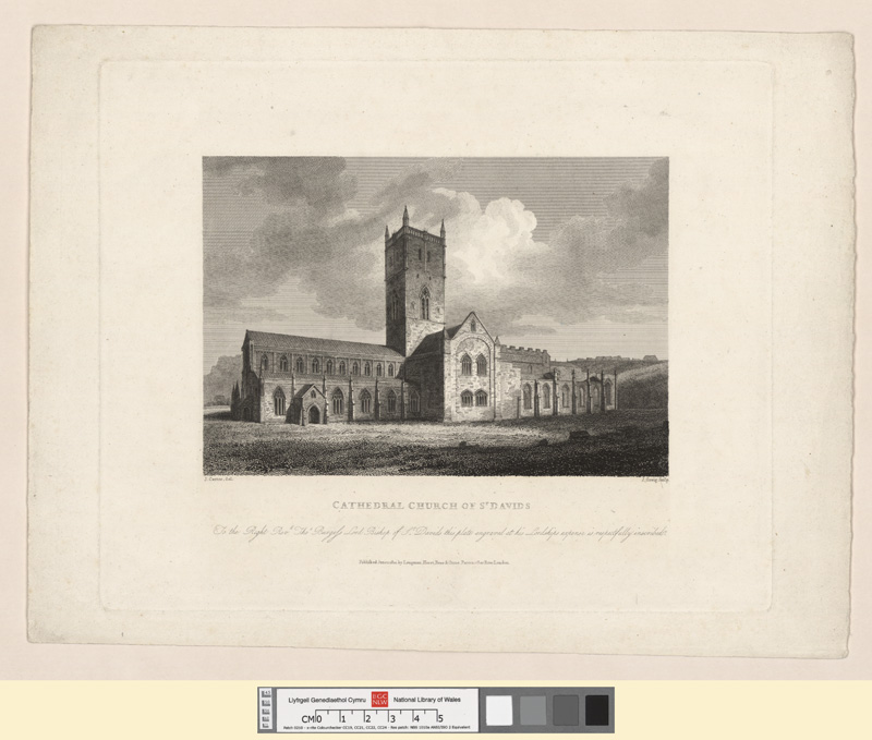 Cathedral Church of St. David's June 1 1810