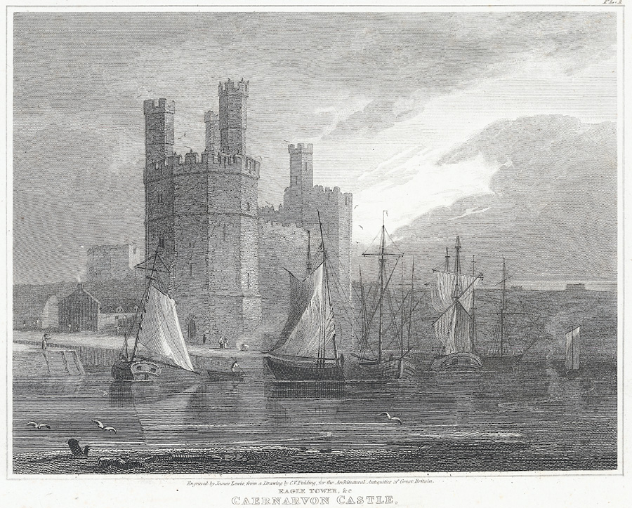 Eagle Tower, &c. Caernarvon Castle