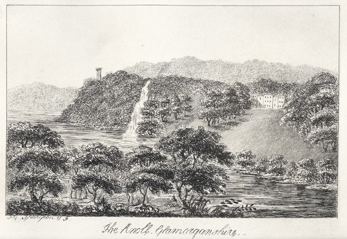 The knoll, Glamorganshire
