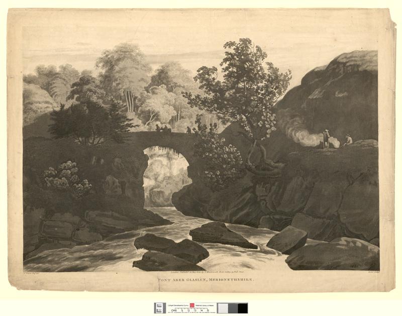 Pont Aber Glaslyn, Merionethshire