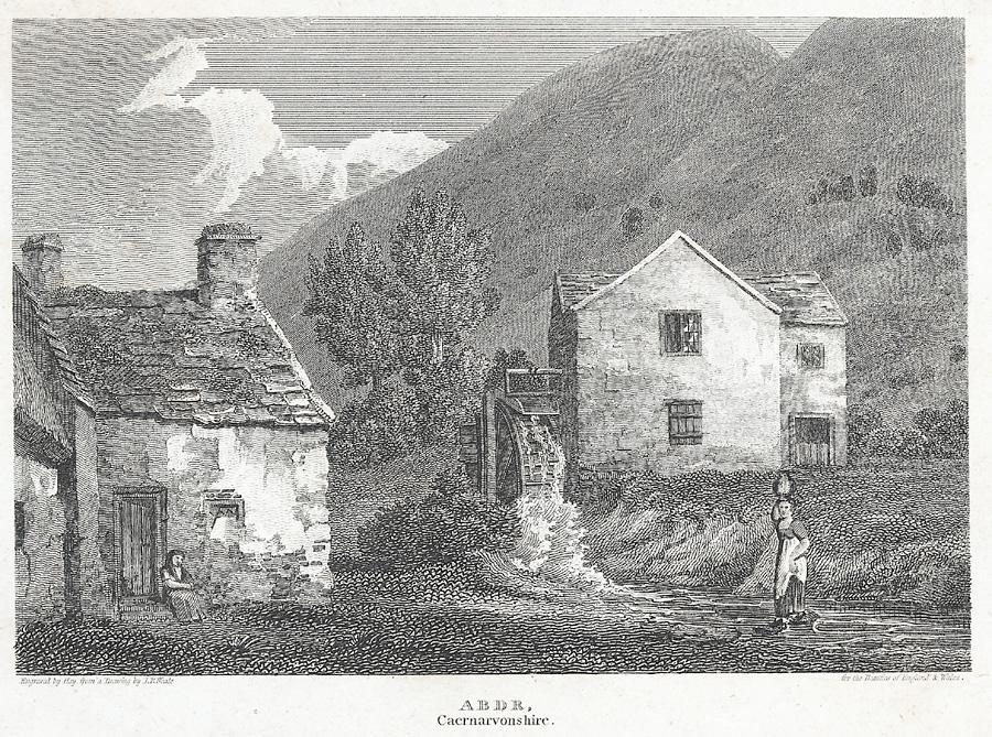 Abdr [i.e. Aber], Caernarvonshire
