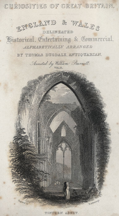 Interior of tintern abbey 1794