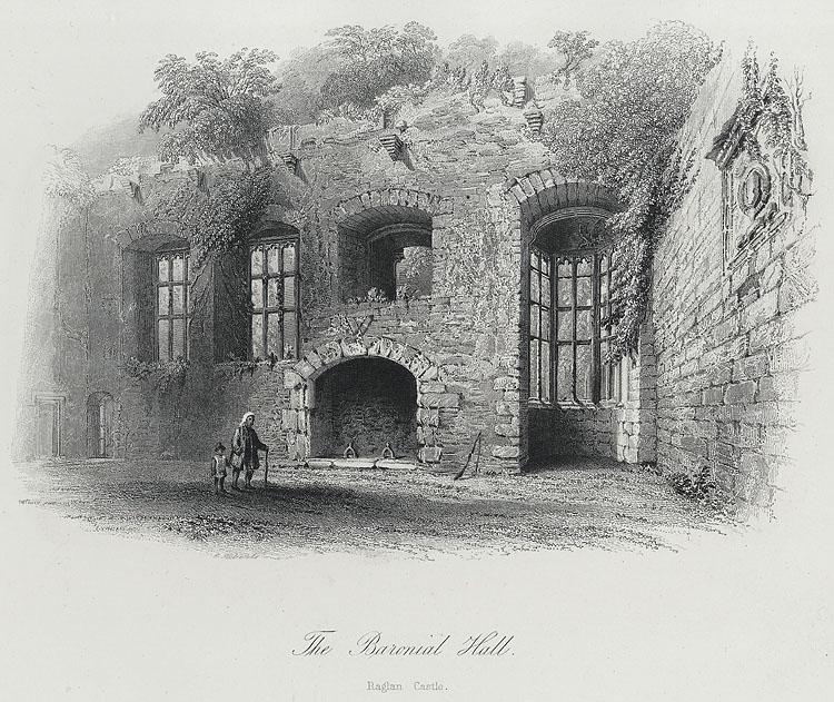 The Baronial Hall, Raglan Castle