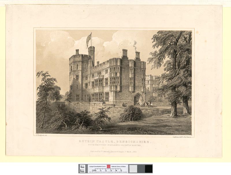 Ruthin Castle, Denbighshire