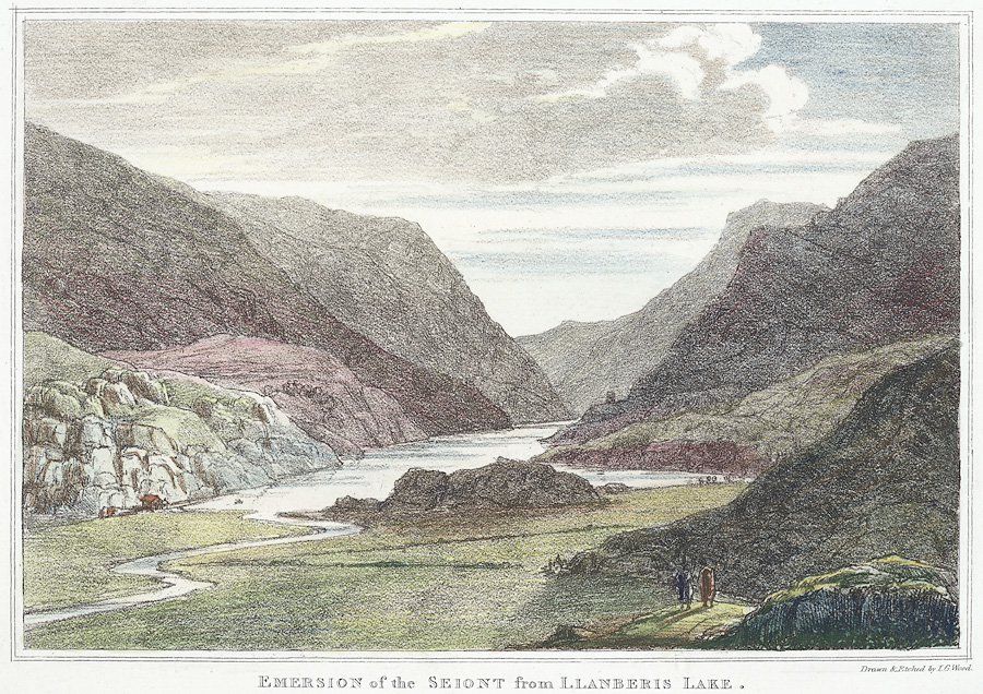 Emersion of the Seiont from Llanberis Lake