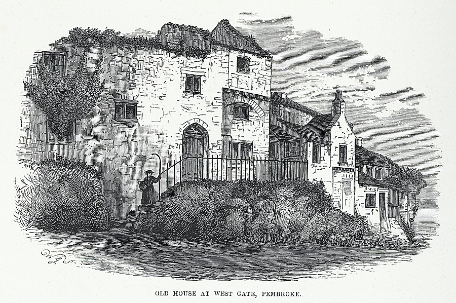 Old House at West Gate, Pembroke
