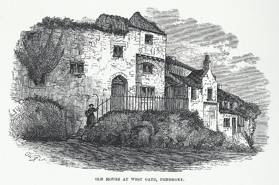 Old House at West Gate, Pembroke