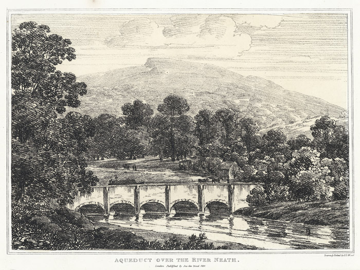 Aqueduct over the river Neath