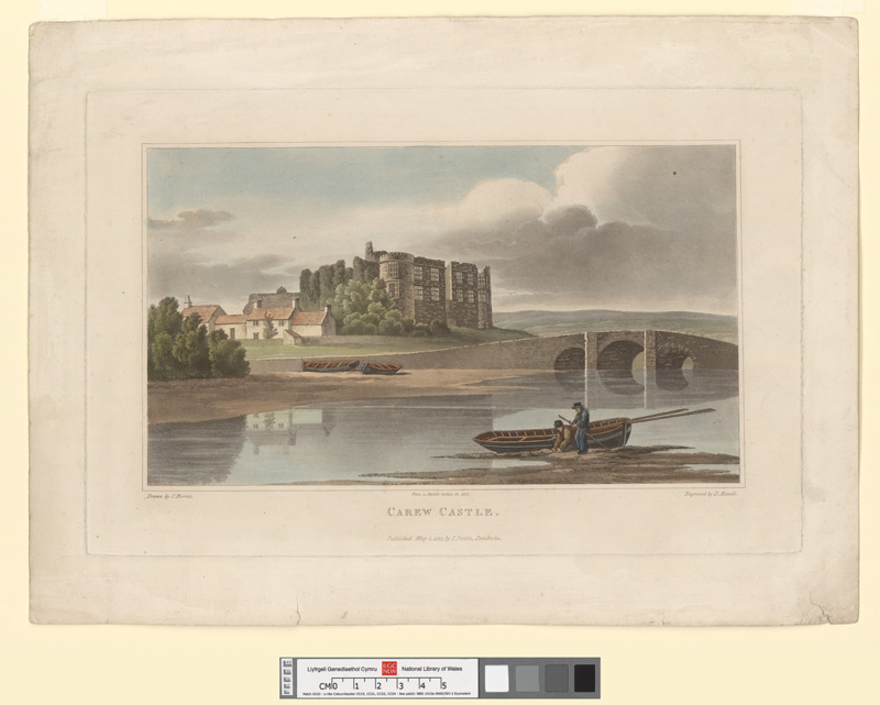 Carew castle May 1 1820
