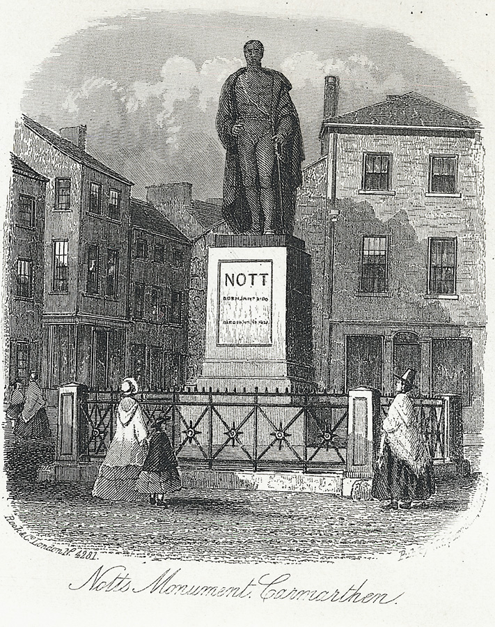 Notts Monument, Carmarthen