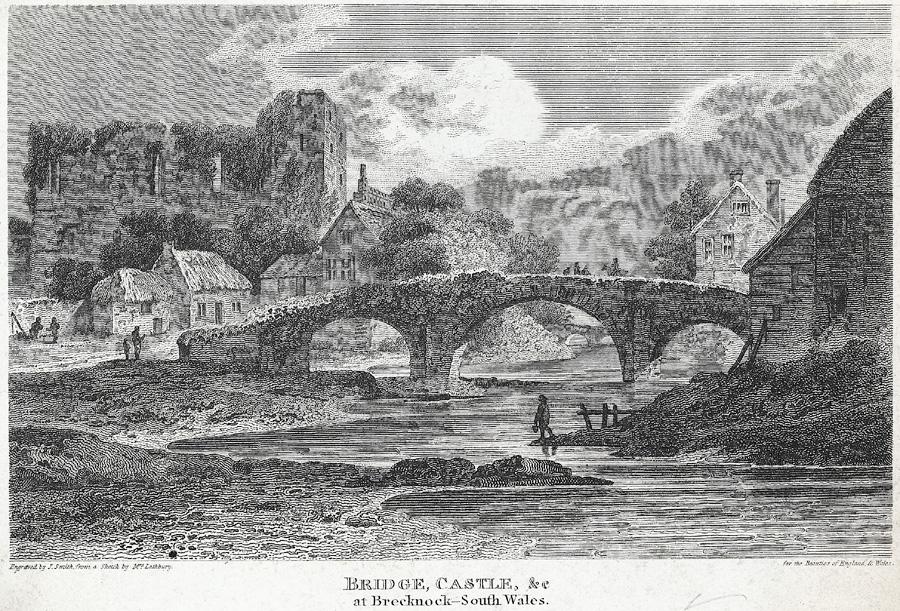 Bridge, castle, &c