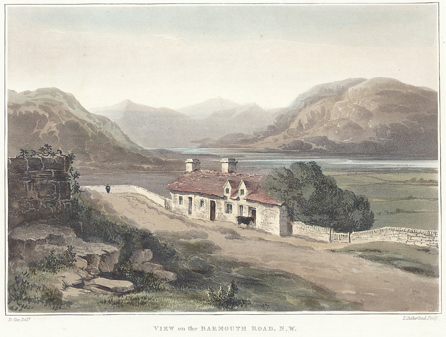 View on the Barmouth Road, N.W