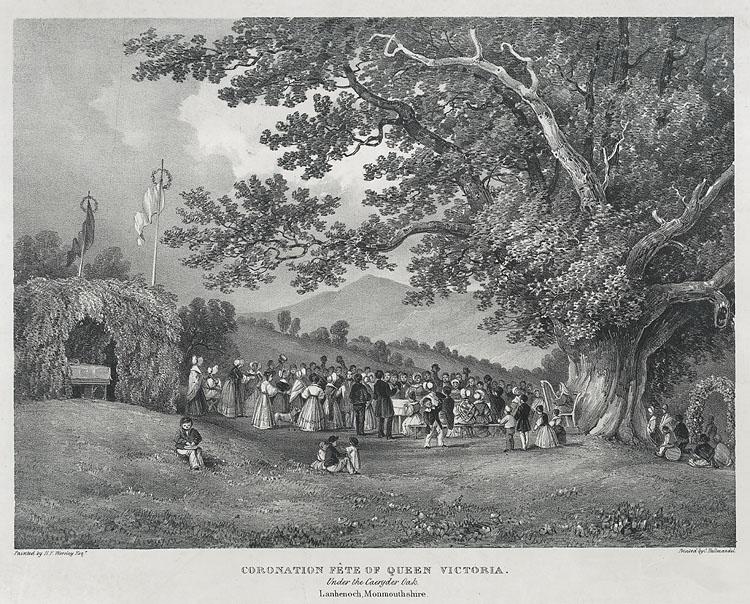 Coronation fête of Queen Victoria