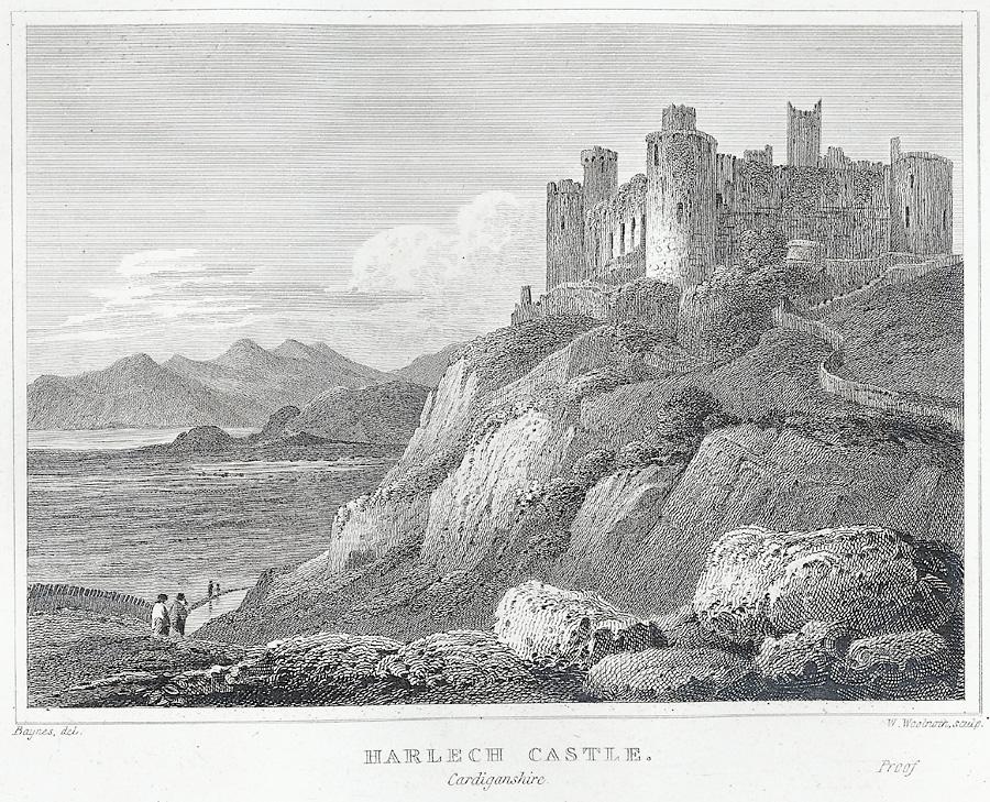 Harlech Castle, Cardiganshire [sic.]