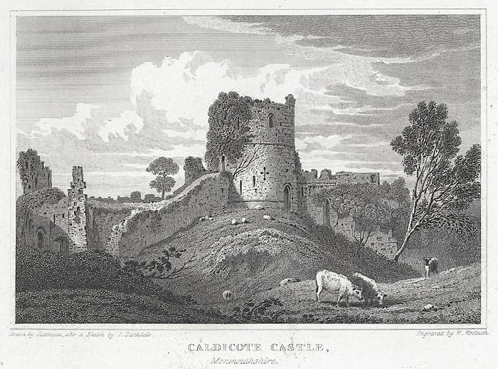 Caldicote Castle, Monmouthshire