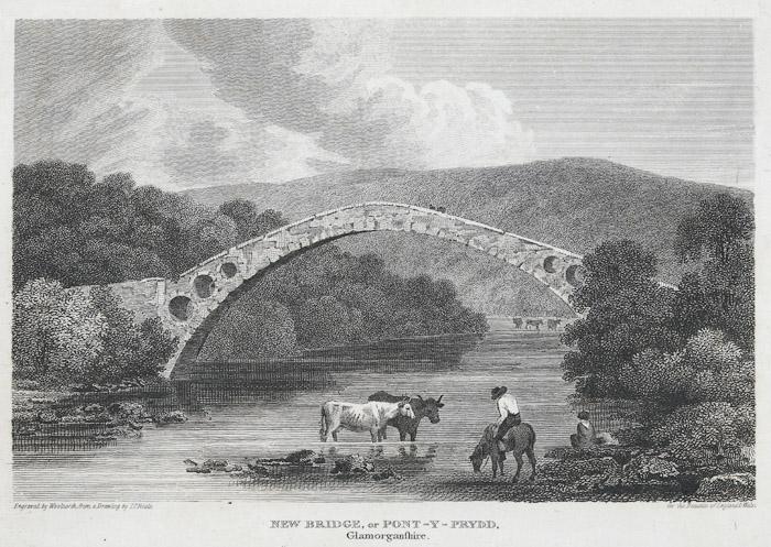New Bridge, or Pont-Y-Prydd, Glamorganshire