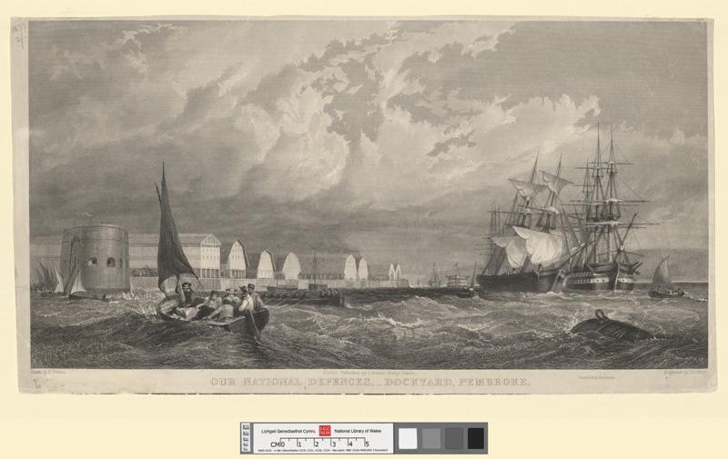 Our national defences, dockyard, Pembroke