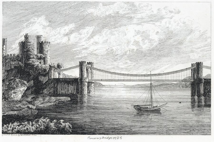 Conway Bridge, 1826