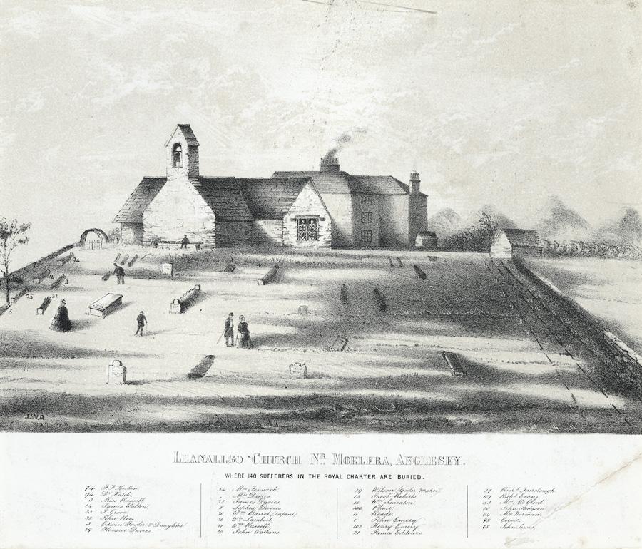 Llanallgo church nr. Moelfra, Anglesey