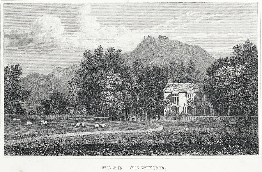 Plas Newydd, near Llangollen, Denbighshire