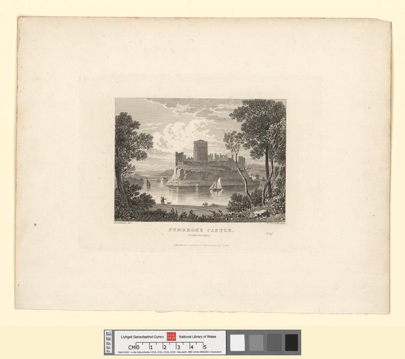Pembroke Castle, Pembrokeshire Decr 1 1824