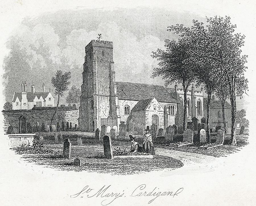 St. Mary's Cardigan