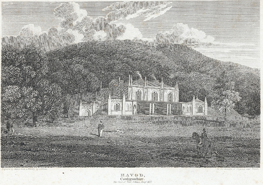 Havod, Cardiganshire. The Seat of Thos. Johnes Esq. M.P