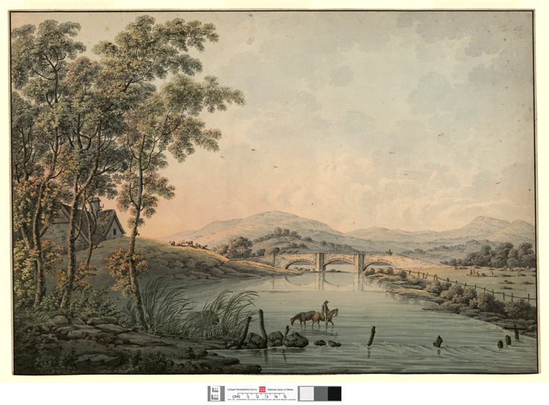 [Bala Bridge, in Merionethshire]