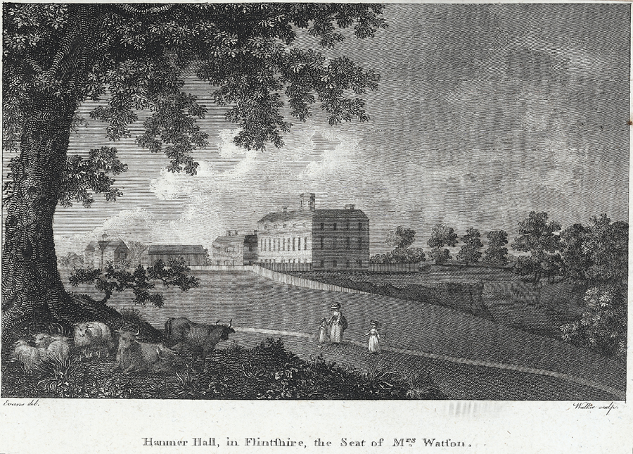Hanmer Hall in Flintshire, the seat of Mrs. Watson