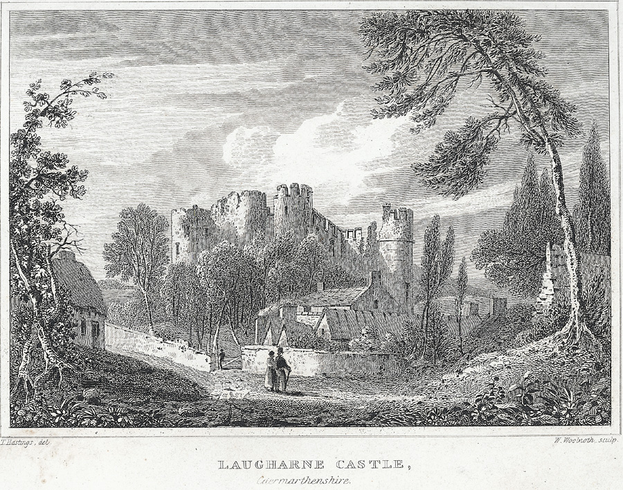 Laugharne Castle, Caermarthenshire