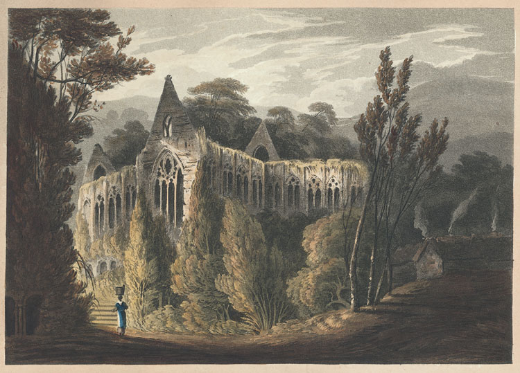 [Tintern Abbey, North View.]