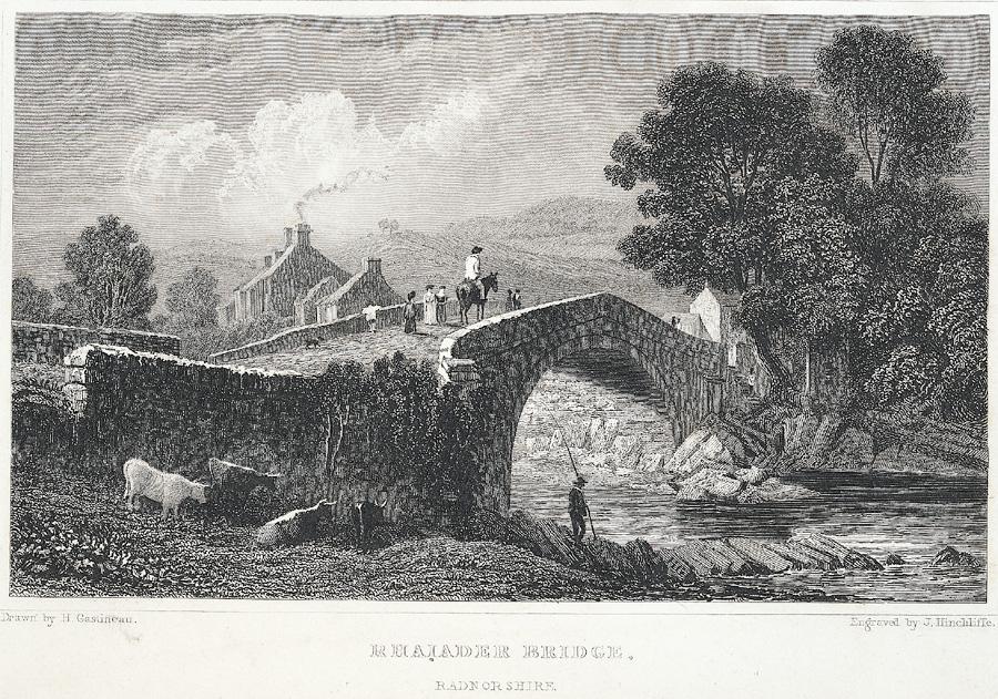Rhaiader Bridge, Radnorshire