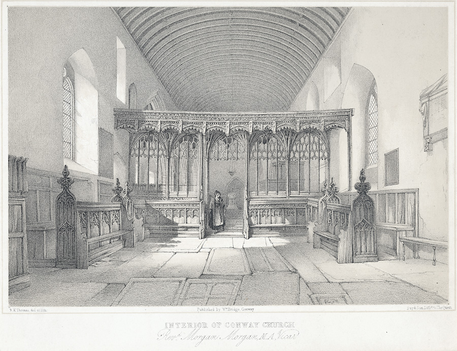 Interior Of Conway Church