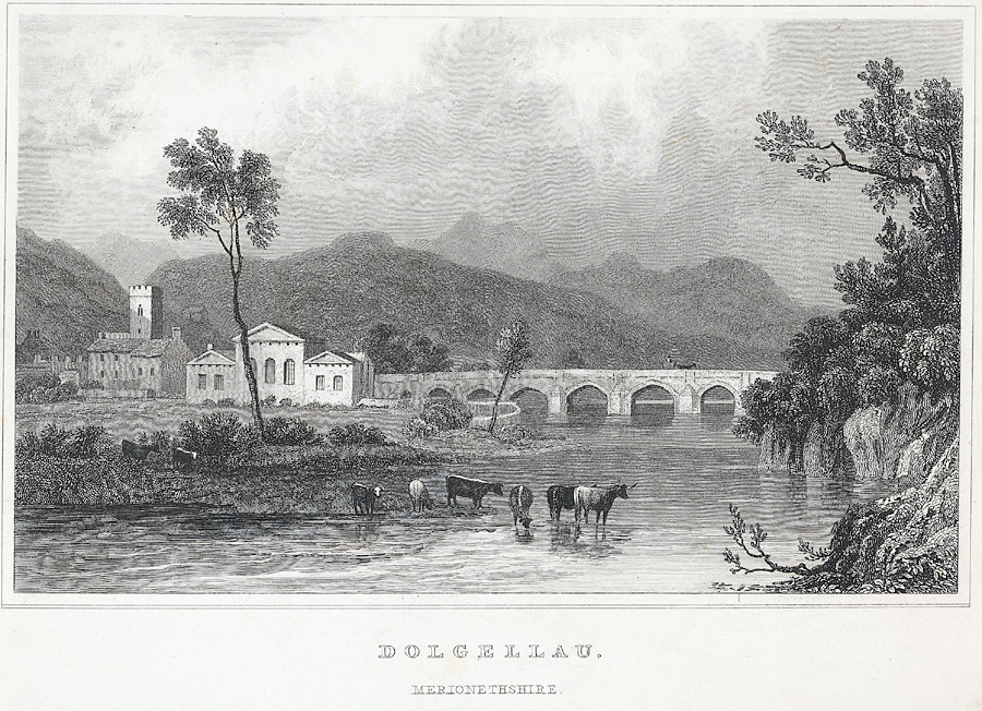 Dolgellau, Merionethshire