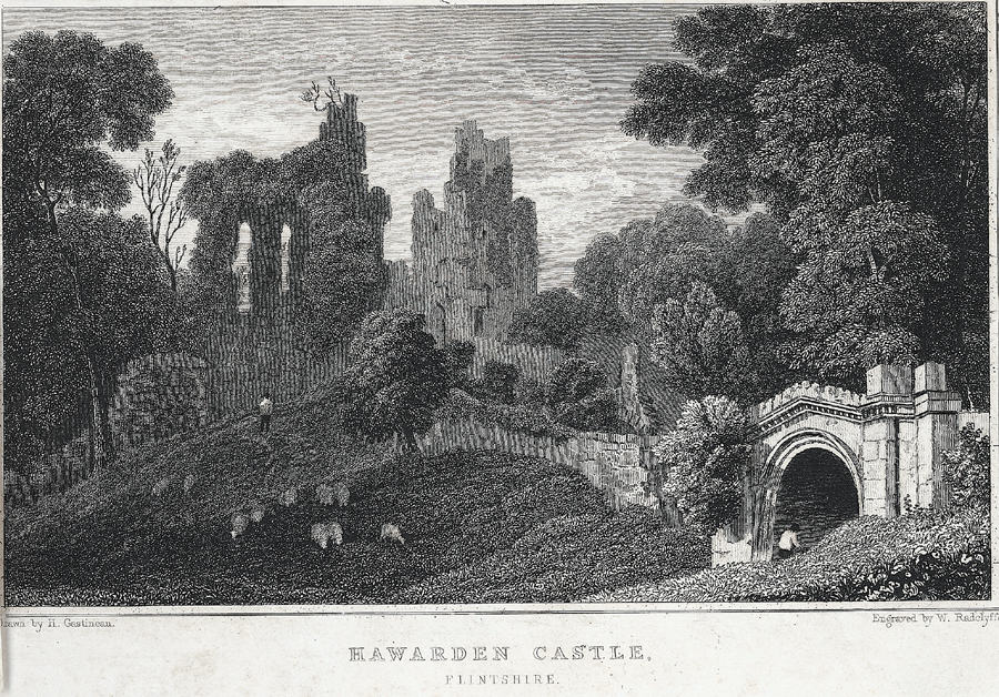 Hawarden Castle, Flintshire