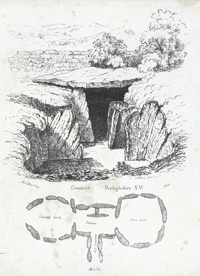 Cromlech, Denbighshire N.W