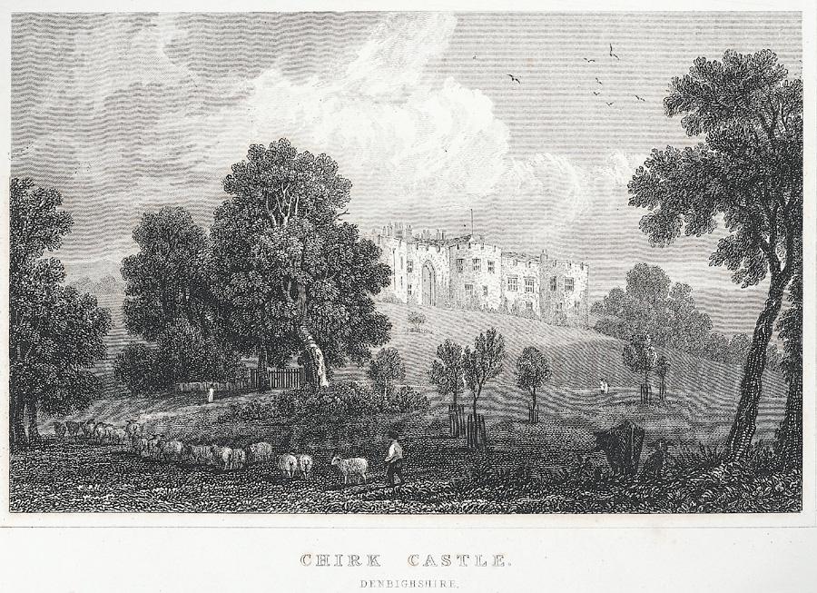 Chirk castle, Denbighshire