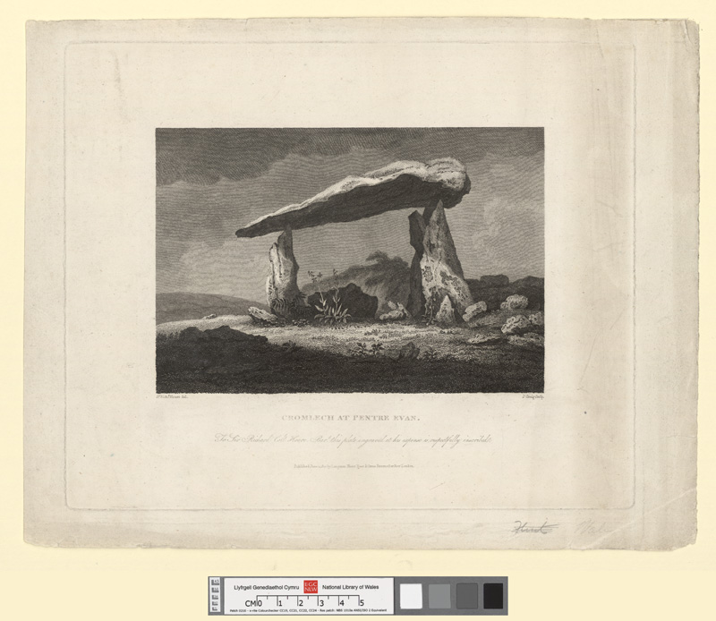 Cromlech at Pentre Evan June 1 1810