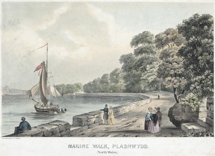 Marine walk, Plasnewydd