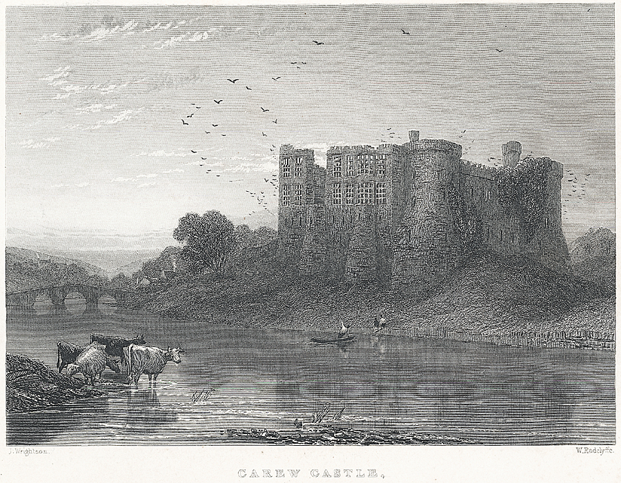 Carew Castle, near Pembroke