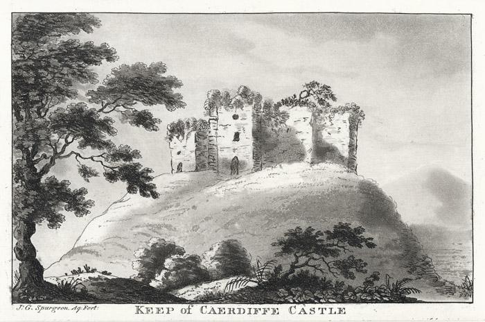 Keep of Caerdiffe castle