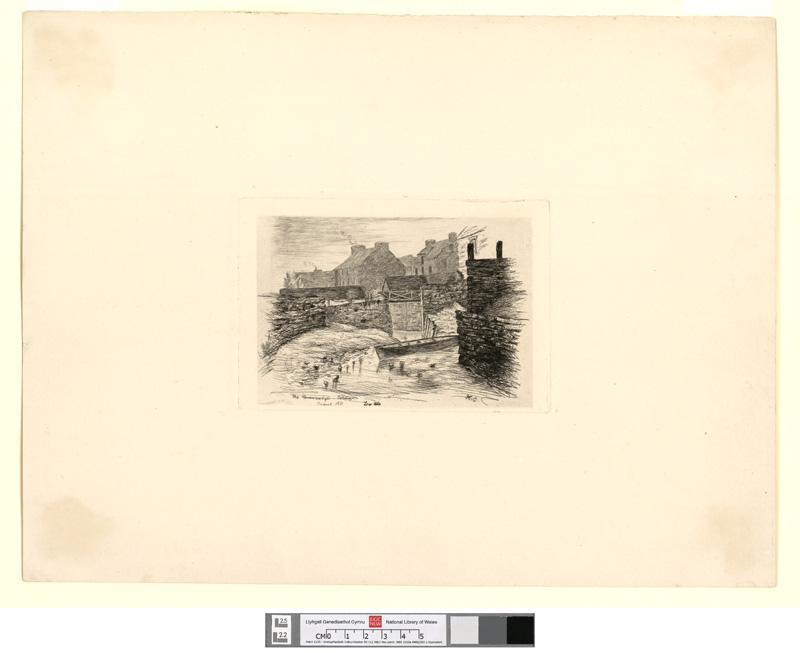 The Drawbridge, Cardigan. (Low Tide.) August 1881