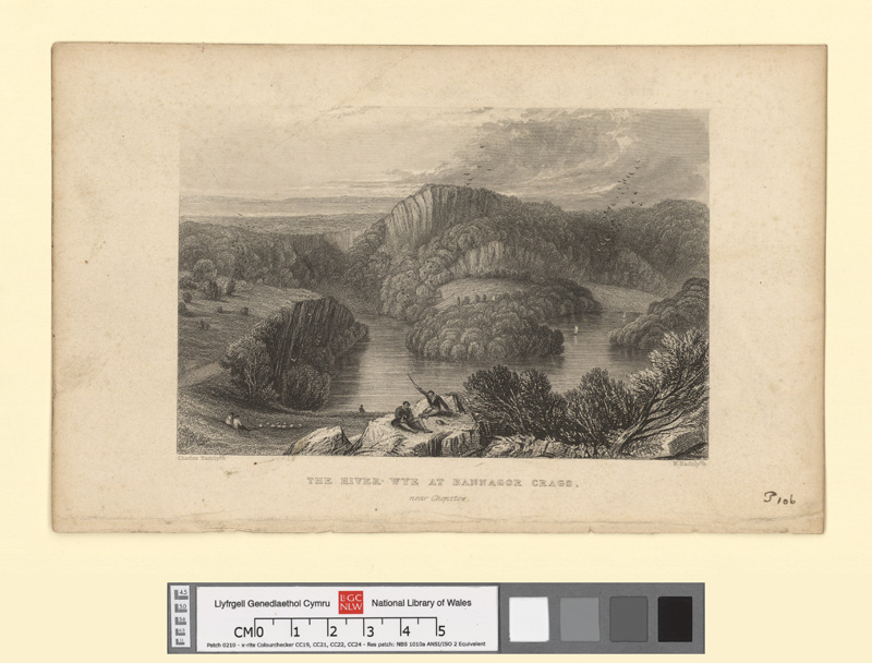 The River Wye at Bannagor Crags, Near Chepstow