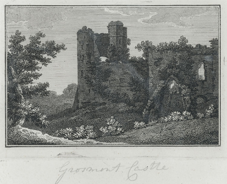 [Entrance to Grosmont Castle]