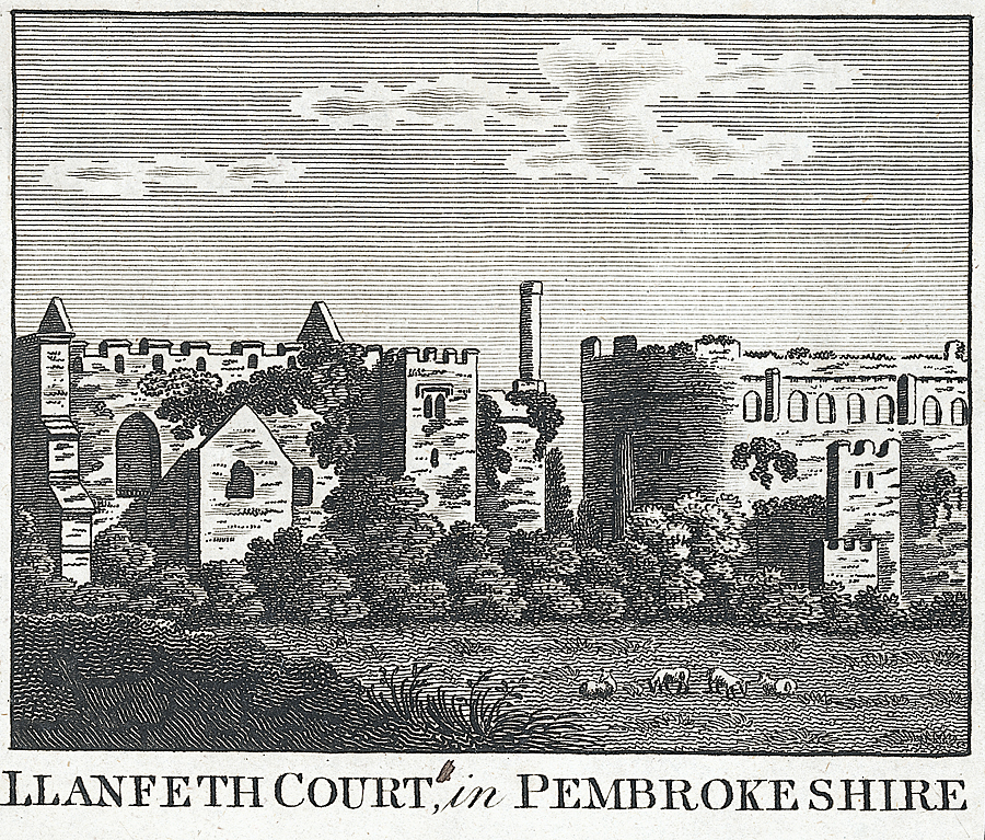 Llanfeth Court, in Pembrokeshire