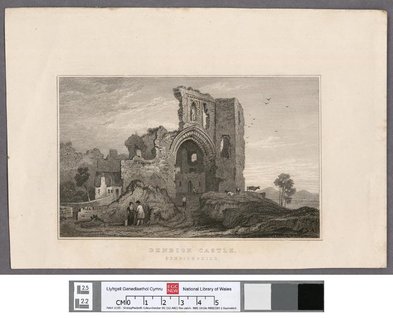 Denbigh Castle, Denbighshire