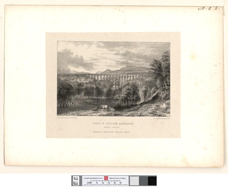 Pont Y Cyslte Aqueduct, north Wales